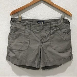 The North Face Abrielle Cuffed Shorts Gray